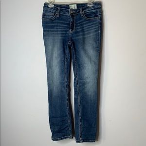 BKE denim Payton ankle straight jeans 27